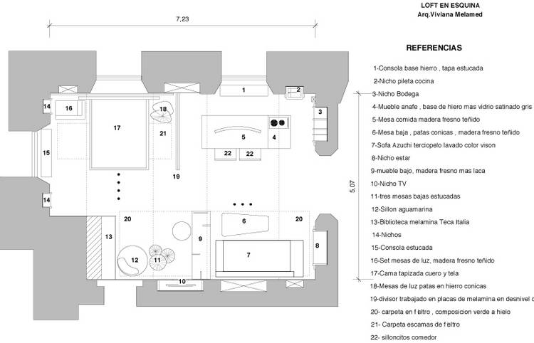 Casa FOA 2014: Loft en esquina - Viviana Melamed